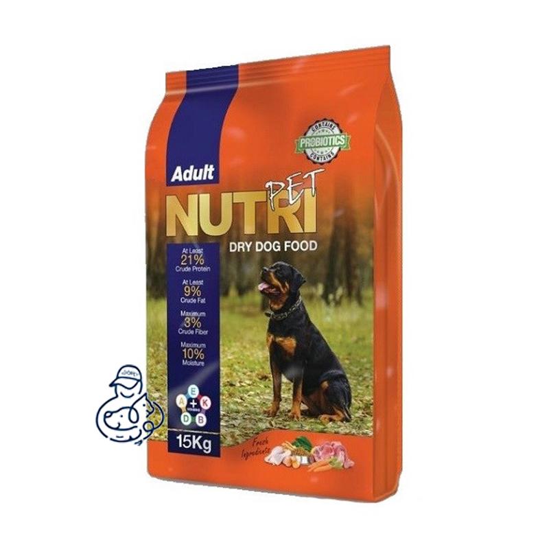 غذای خشک سگ نوتری پت پریمیوم ۲۱٪