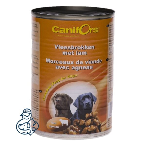 کنسرو چانک سگ کانیفورس با طعم بره