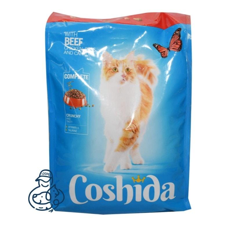 غذای خشک گربه کوشیدا گوشت گوساله