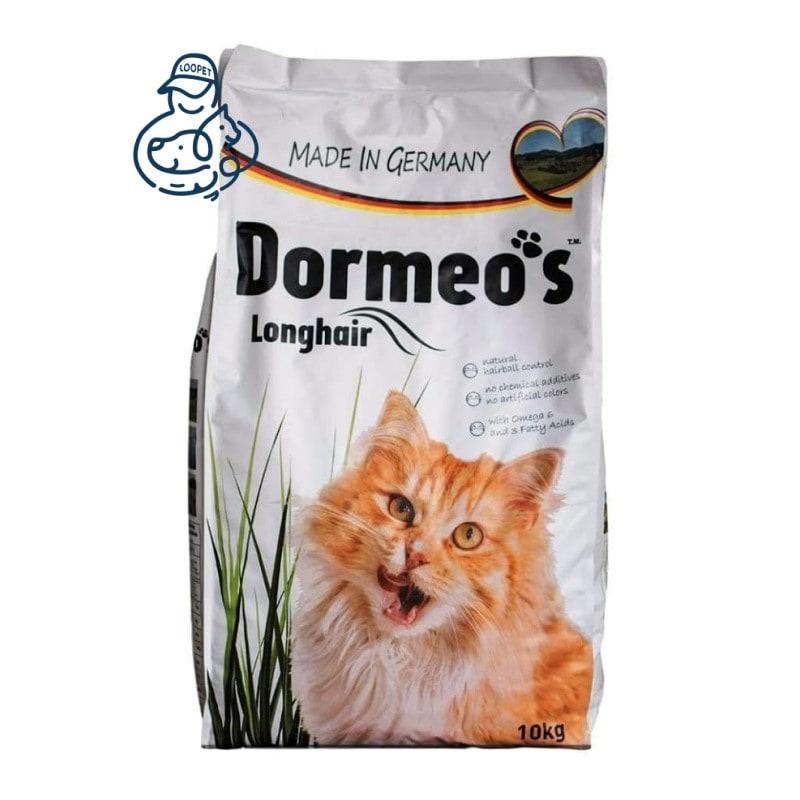 غذای خشک گربه مو بلند دورمئو