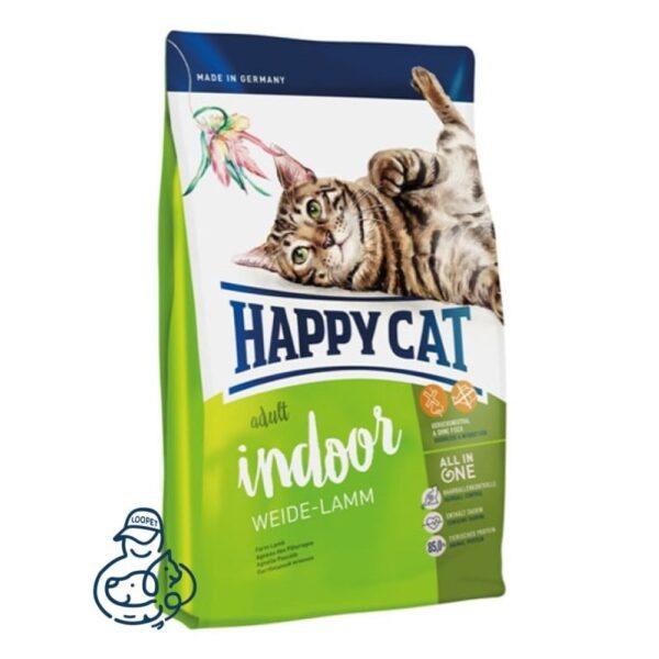 غذای خشک گربه هپی کت ایندور