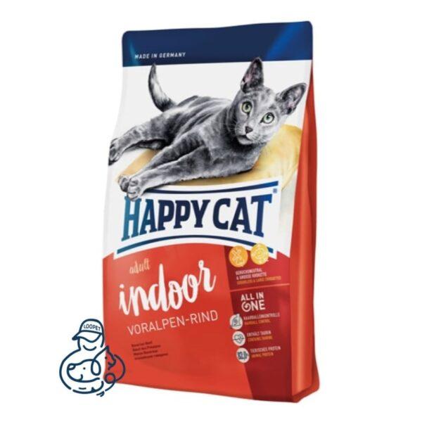 غذای خشک گربه هپی کت ایندور ورالپن