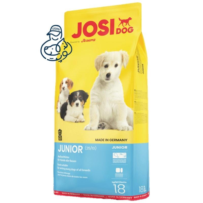 غذای خشک توله سگ جوسرا مدل جونیور جوزرا