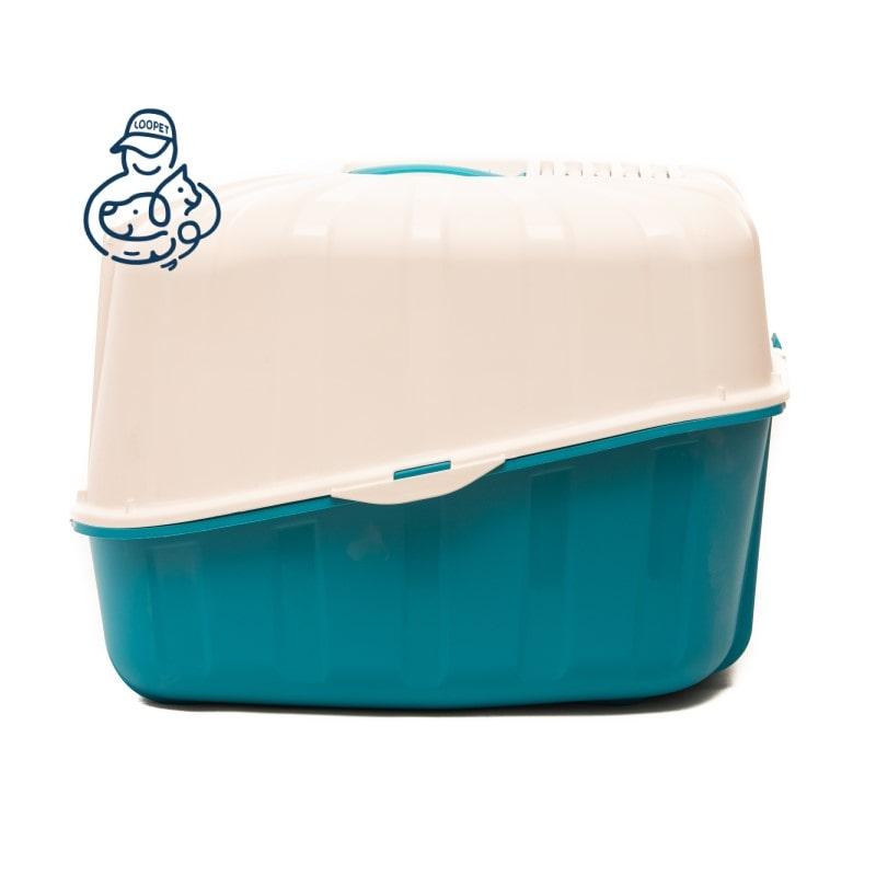 litter box blue white 1