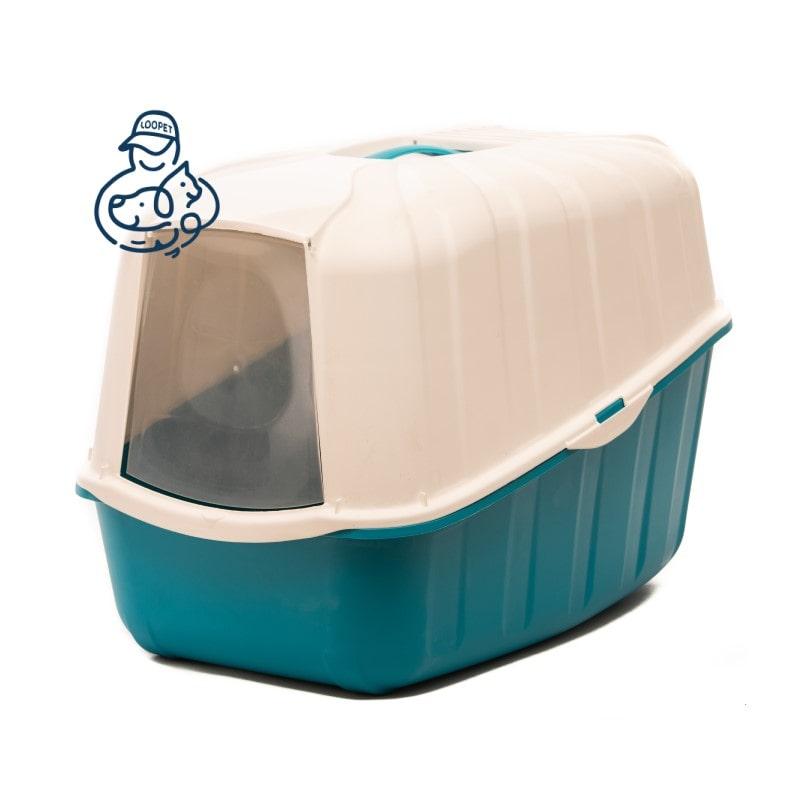 litter box blue white 2