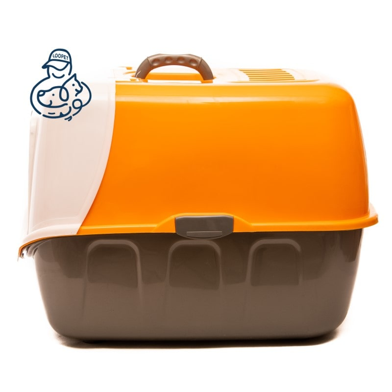 litter box orange 1