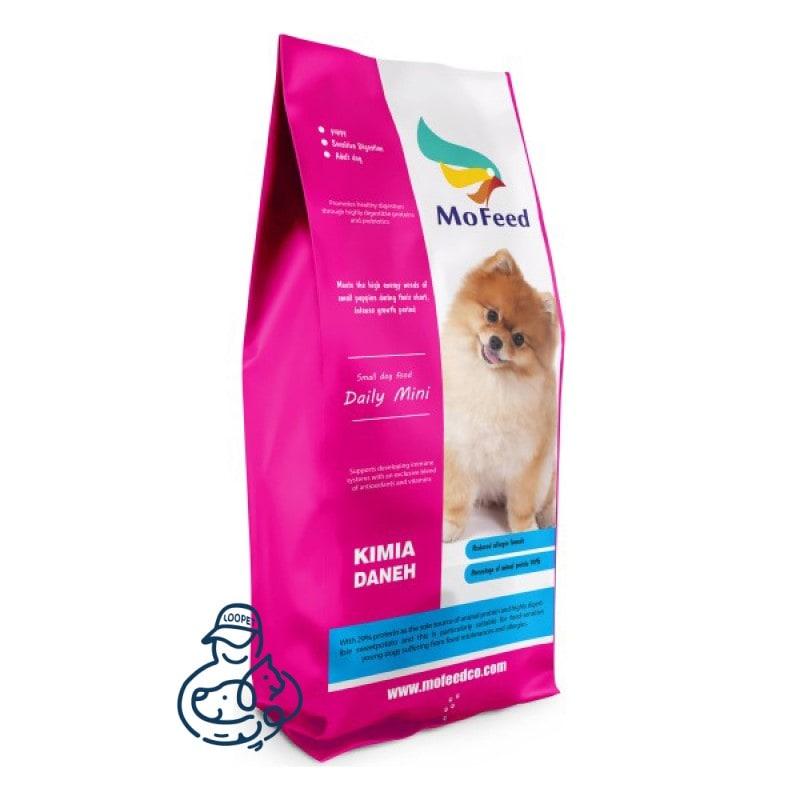 غذای خشک سگ بالغ نژاد کوچک مفید