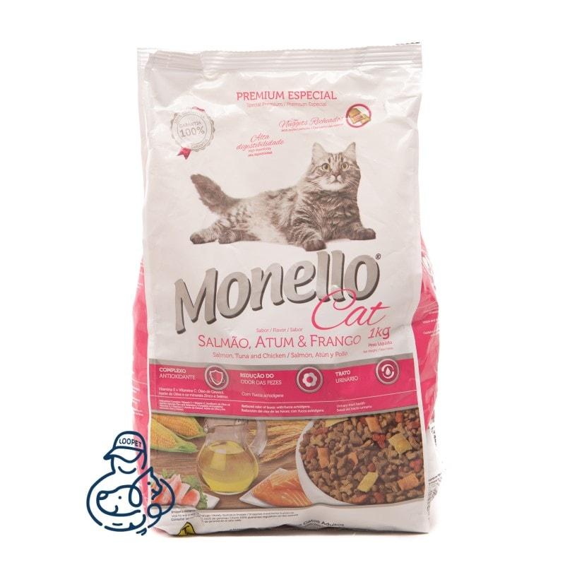 غذای خشک گربه مونلو