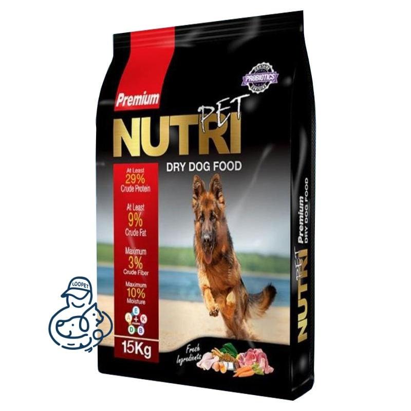 غذای خشک سگ نوتری پت ۲۹% پروتئین