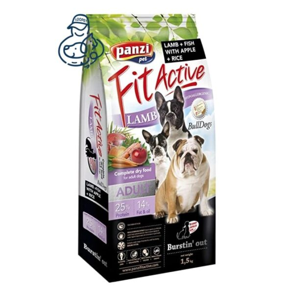 غذای خشک سگ بالغ پانزی فیت اکتیو