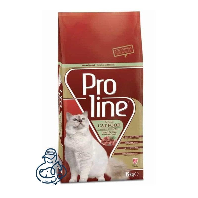 غذای خشک گربه پرولاین