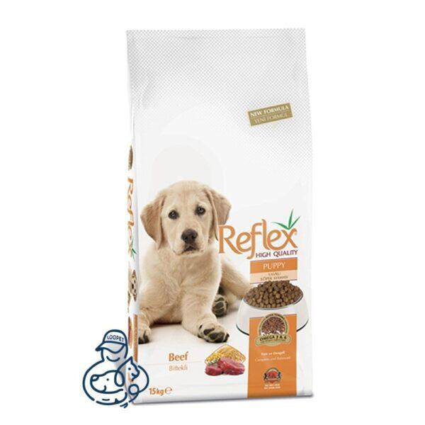 غذای خشک توله سگ نژاد کوچک رفلکس