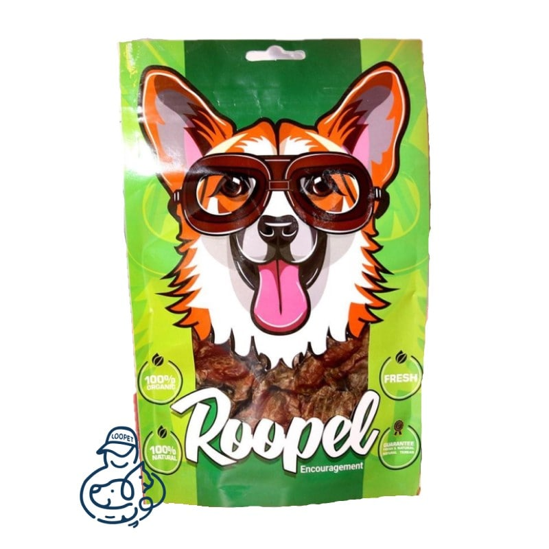 تشویقی سگ روپل چیپس فیله بوقلمون