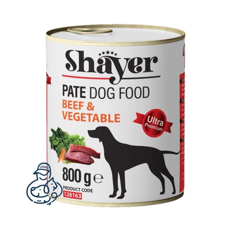 shayer dog canned food 800gr 3 min