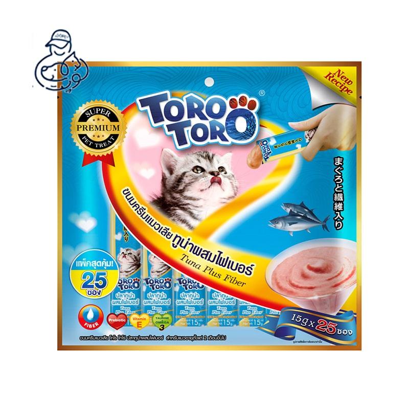 بستنی گربه تورو تورو با طعم ماهی تن (۴ عددی)