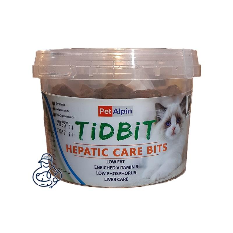 tidbit hepatic care bits min